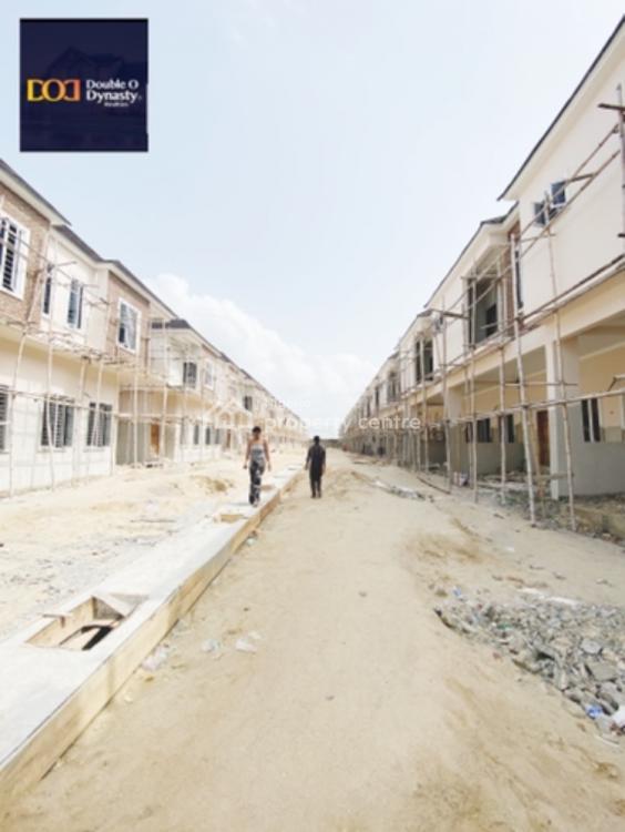 Well Built 4 Bedroom Terraced Duplexes, By Chevron Toll, Lekki, Lagos, Terraced Duplex for Sale