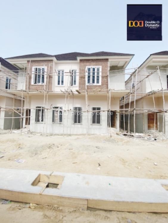 Luxuriously Built 4 Bedroom Semi Detached Duplex with Bq, By Chevron Toll, Lekki, Lagos, Semi-detached Duplex for Sale