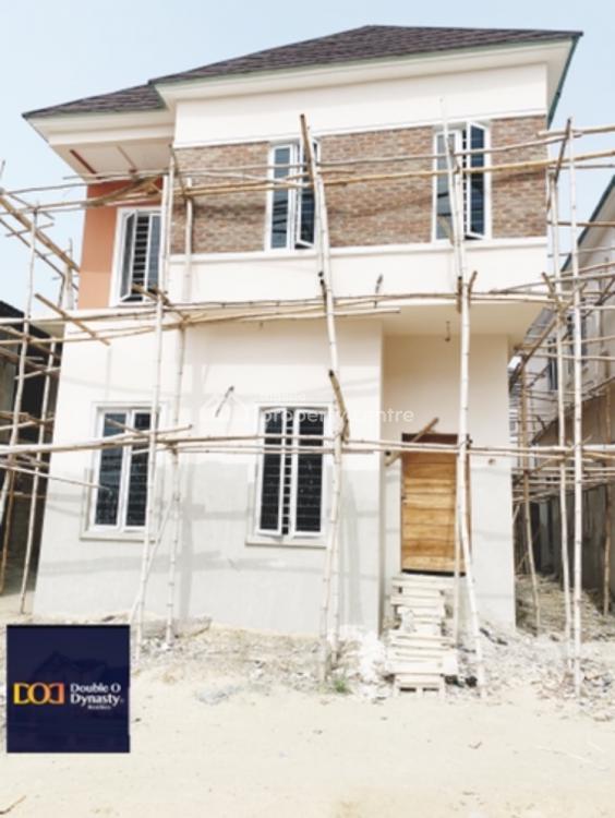Modern 4 Bedrooms Detached House, By Chevron Toll, Lekki, Lagos, Detached Duplex for Sale