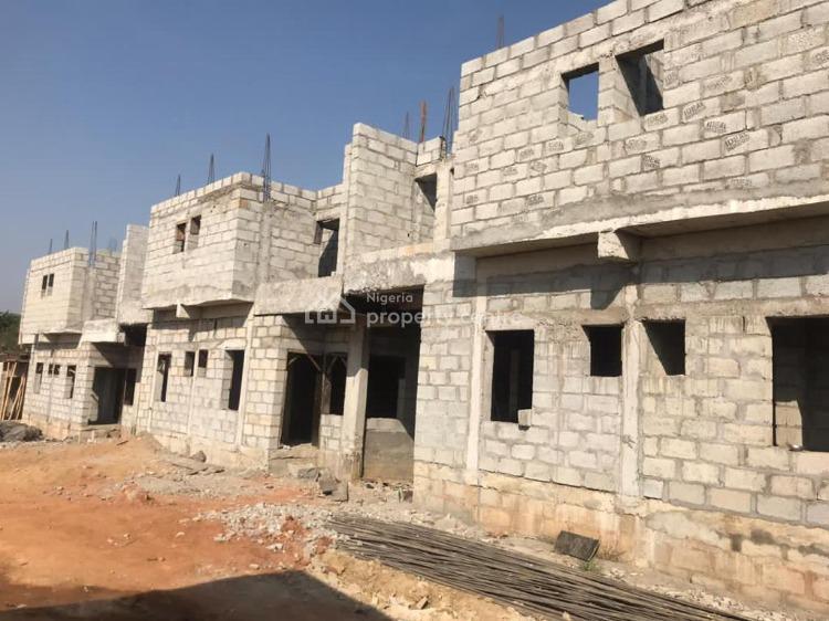 4 Bedroom Terrace with Bq, Plot 712 Gwarinpa District, Cadastral Zone C2, Dape, Life Camp, Abuja, Terraced Duplex for Sale
