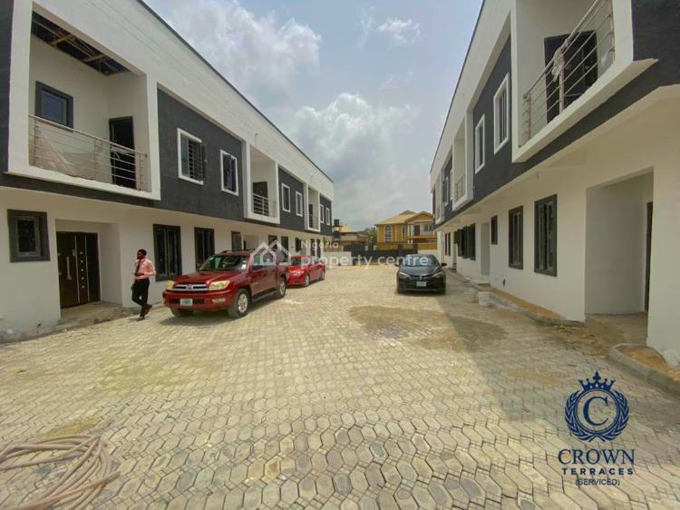 4 Bedrooms Terraced Duplex in a Serene Environment, Sangotedo, Ajah, Lagos, Terraced Duplex for Sale