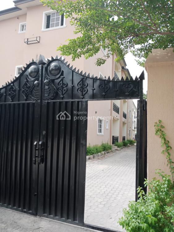 Upstairs, Well Spaced and Clean 3 Bedroom, Dominos Pizza Axis, Agungi, Lekki, Lagos, Flat for Rent