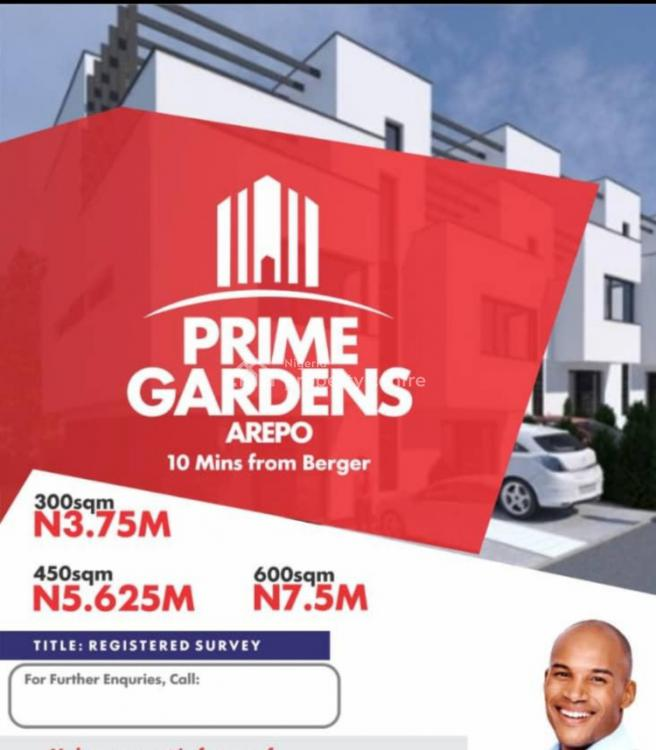 Prime Gardens - 60% Dry Land in a Serene Location, Prime Gardens, Mercy Avenue., Berger, Arepo, Ogun, Mixed-use Land for Sale