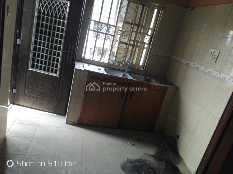 Well Kept Three Bedrooms Flat in an Interlocking Stone, Badore, Ajah, Lagos, Flat for Rent