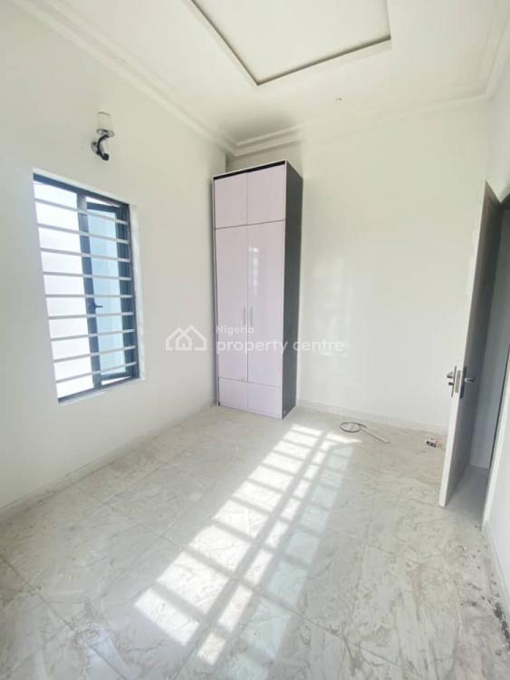 Brand New 4 Bedroom Semi-detached Duplex with 1 Room Bq, Chevron Alternative, Lekki, Lagos, Semi-detached Duplex for Rent
