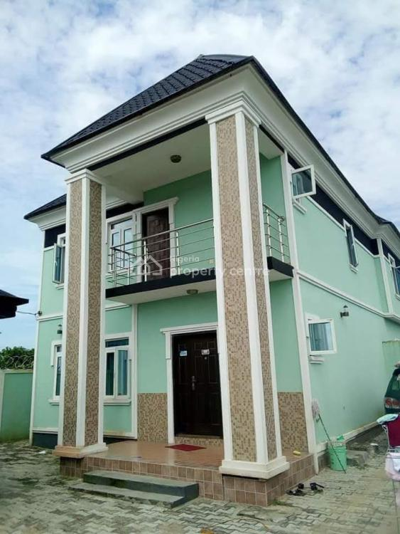 4 Bedrooms Duplex with an Uncompleted Swimming Pool in a Serene Area, Bogije, Ibeju Lekki, Lagos, Detached Duplex for Sale