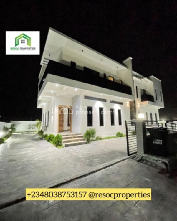 a Beautifully Designed 5 Bedrooms Fully Detached Duplex with a Bq, Sangotedo, Ajah, Lagos, Detached Duplex for Sale