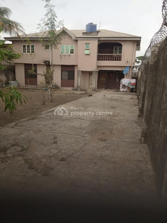 2 Units of 3 Bedrooms Setback on a Plot of Land, Iyewo Estate, Araromi, Akesan, Alimosho, Lagos, Block of Flats for Sale