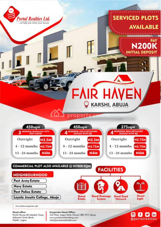 Plots of Land in Beautiful Serenity, Fair Heaven Estate, Karshi, Abuja, Residential Land for Sale