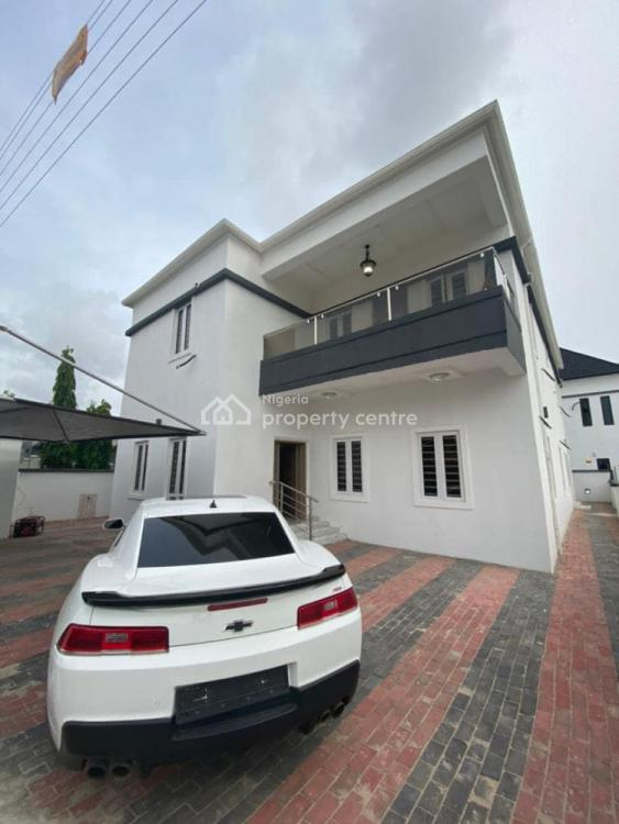 5 Bedrooms Fully Detached Duplex with Self Contained Bq, Sangotedo, Ajah, Lagos, Detached Duplex for Sale