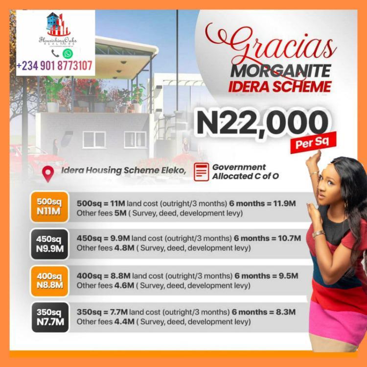 Affordable Residential Plots of Land, Idera Scheme (directly Facing Lekki-epe Expressway), Eleko, Ibeju Lekki, Lagos, Residential Land for Sale