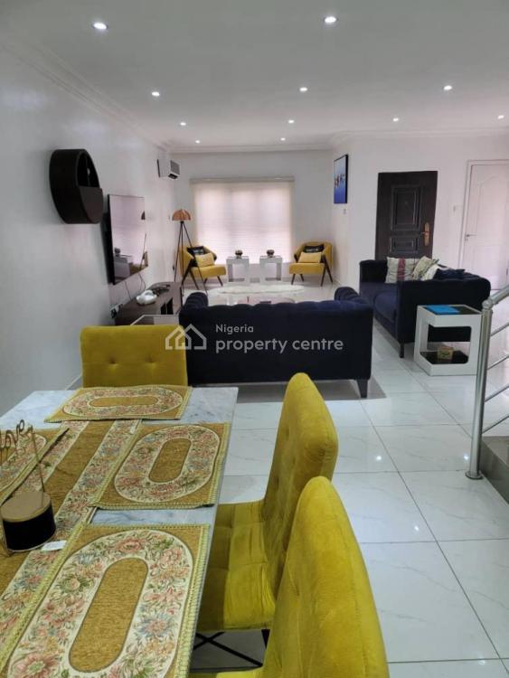 Luxurious 3 Bedroom Duplex with Swimming Pool & Gym, Ikate, Lekki, Lagos, Terraced Duplex Short Let