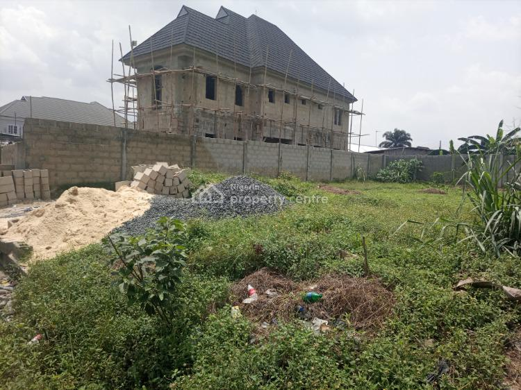 Well Located One Plot of Dry and Fenced Land, Gbalajam Phase 1 ,woji/ Off Peter Odili Road, Port Harcourt, Rivers, Residential Land for Sale