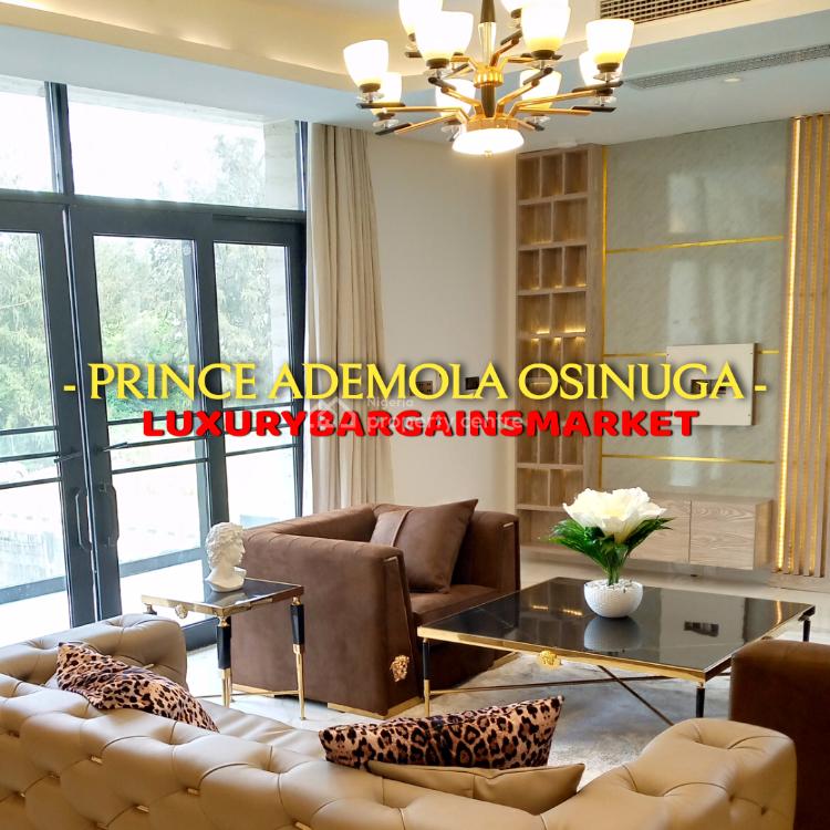 Fresh & Furnished 5 Bedrooms Semi Detached Terrace + Private Elevator, Banana Island Estate, Ikoyi, Lagos, Semi-detached Duplex for Sale