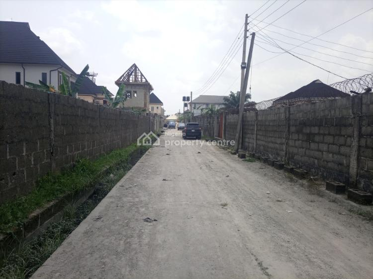 Well Accessible and Table Dry One Plot of Fenced Land, Gbalajam Estate Phase 1  Woji, Off Peter Odili Road, Port Harcourt, Rivers, Residential Land for Sale