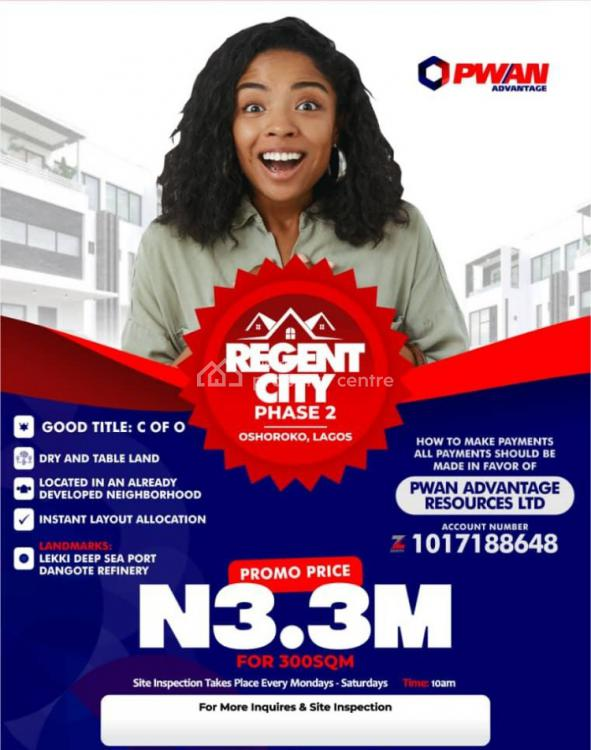 Certificate of Occupancy ( C of O), Oshoroko, Ibeju Lekki, Lagos, Mixed-use Land for Sale