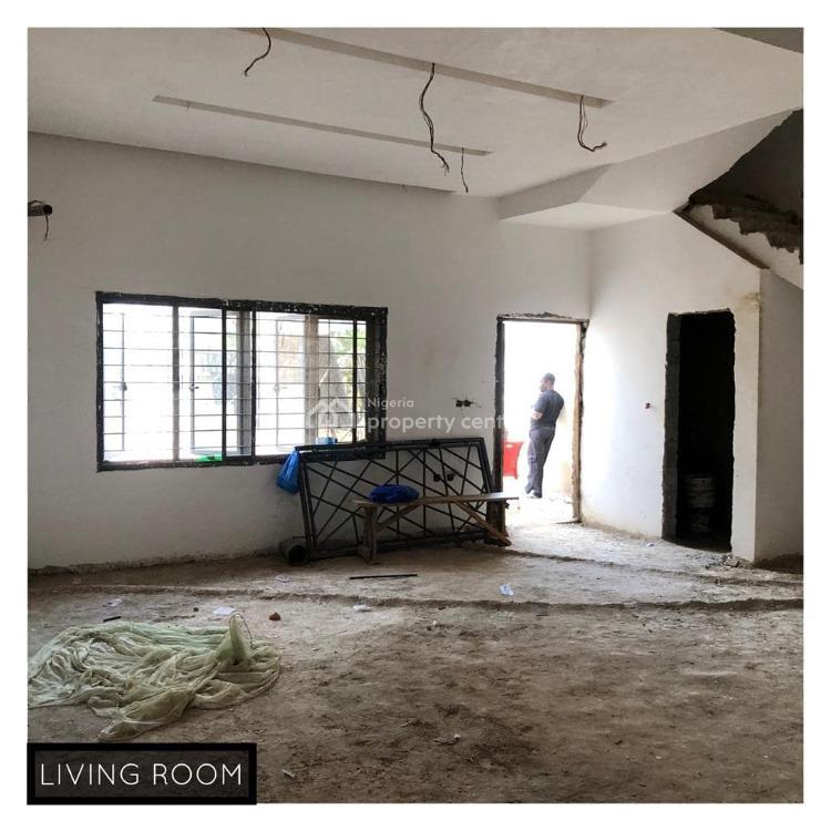 Luxury 4 Bedrooms Duplex, Guzape District, Abuja, Semi-detached Duplex for Sale