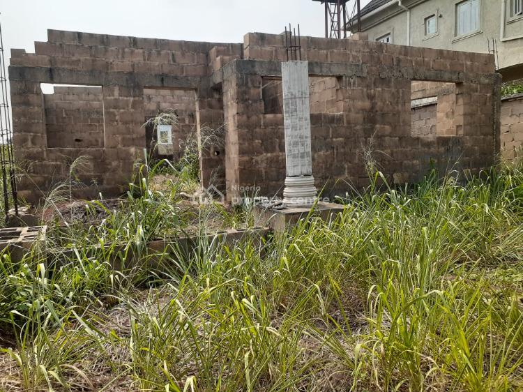 an Uncompleted Bungalow on a Full Plot Available, Awolate, Close to The Emerald Estate, Mowe Ofada, Ogun, Detached Bungalow for Sale