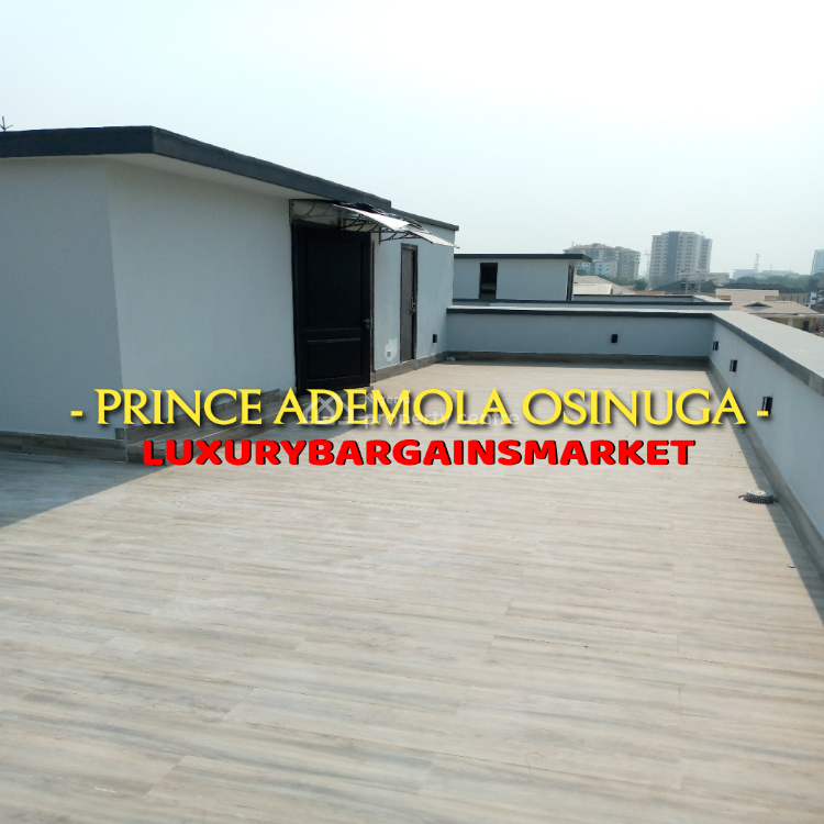Most Affordable Reasonably Priced Newly Built 4 Bedrooms Semi Detached House, Parkview, Ikoyi, Lagos, Semi-detached Duplex for Sale