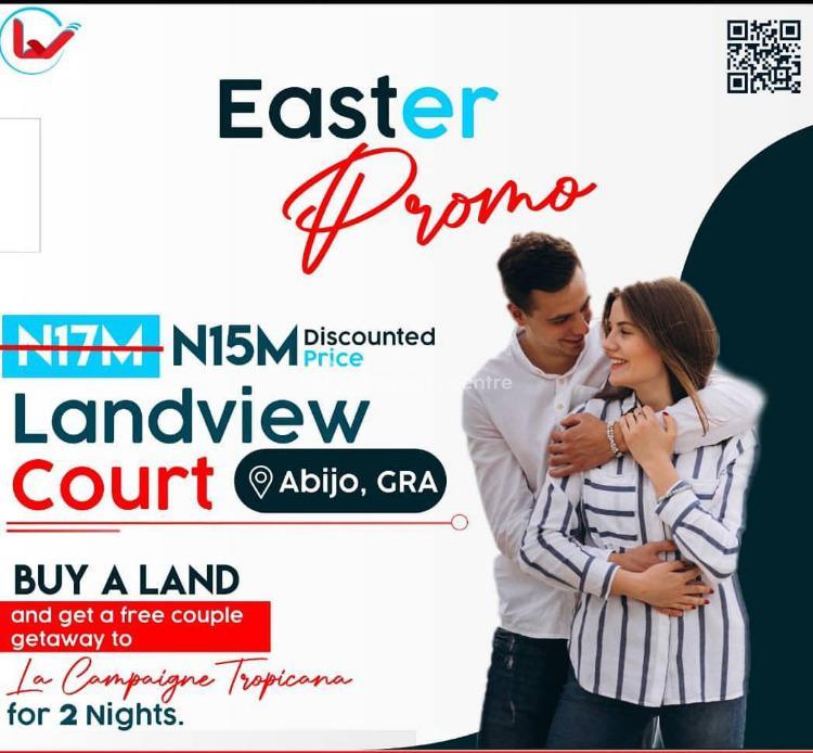 Enjoy This Promo Land, Landview Court  Estate, Abijo, Lekki, Lagos, Residential Land for Sale