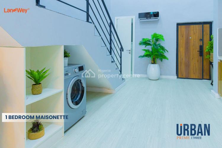 1 Bedroom Maisonette, Abraham Adesanya, Ogombo Road, Urban Prime Three (phase 2), Ogombo, Ajah, Lagos, Flat for Sale