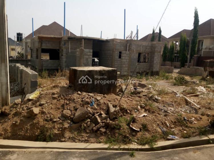 5 Bedroom Detached Duplex with Swimm Pool ( Carcass), Beside Efab Estate , Life Camp, Mbora (nbora), Abuja, Detached Duplex for Sale