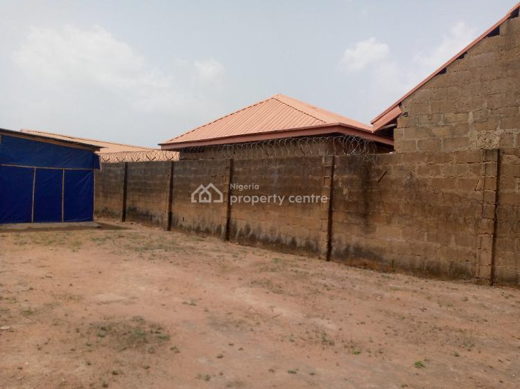 Nice Fenced One Plot of Land in a Good Estate, 4, Peace Street, Akuru Complex Estate, Near Elebu Off Akala Express, Oluyole, Oyo, Residential Land for Sale