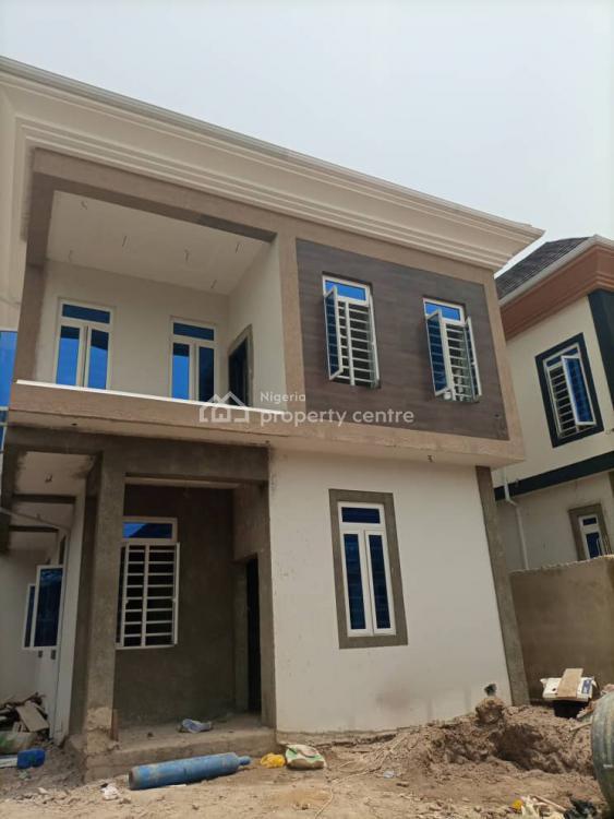 Well Built New 5 Bedroom Detach Duplx Wth Bq Wth 5 Pack, Omole Phase 2, Ikeja, Lagos, Detached Duplex for Sale