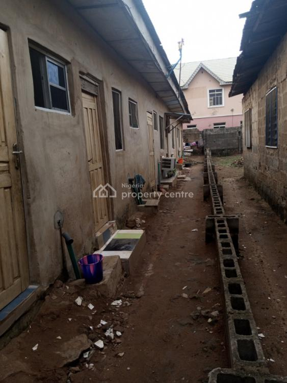 Half Plot of Land with 2 Unit of Mini Flat, Facing Agric Road, Igando, Alimosho, Lagos, Detached Bungalow for Sale