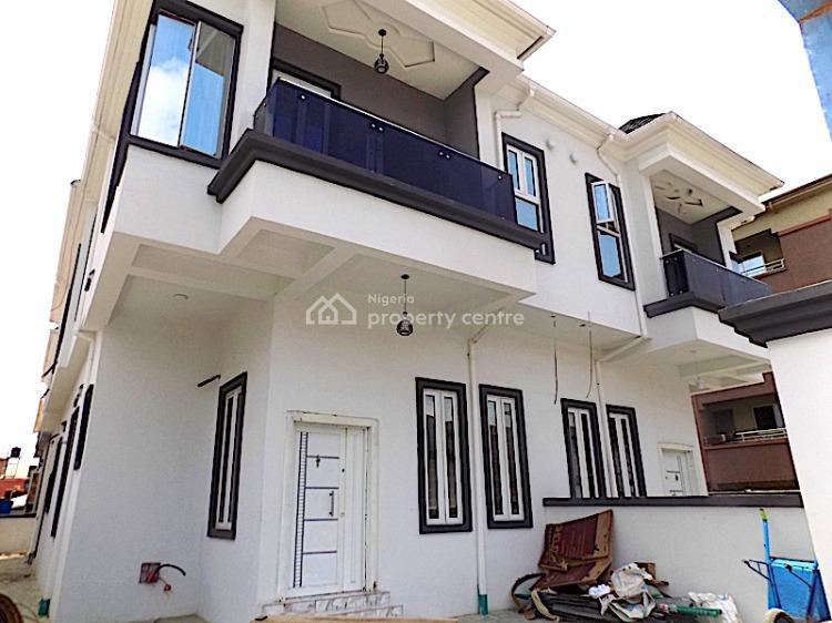 New House in a Gated Estate Clean 4 Bedroom Semi Detached with Bq, Agungi, Jakande, Lekki, Lagos, Semi-detached Duplex for Sale