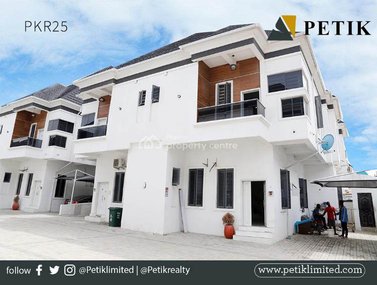 4 Bedroom Fully Serviced Semi Detached Duplex with Bq, Orchid, Yaba, Lagos, Detached Duplex for Rent