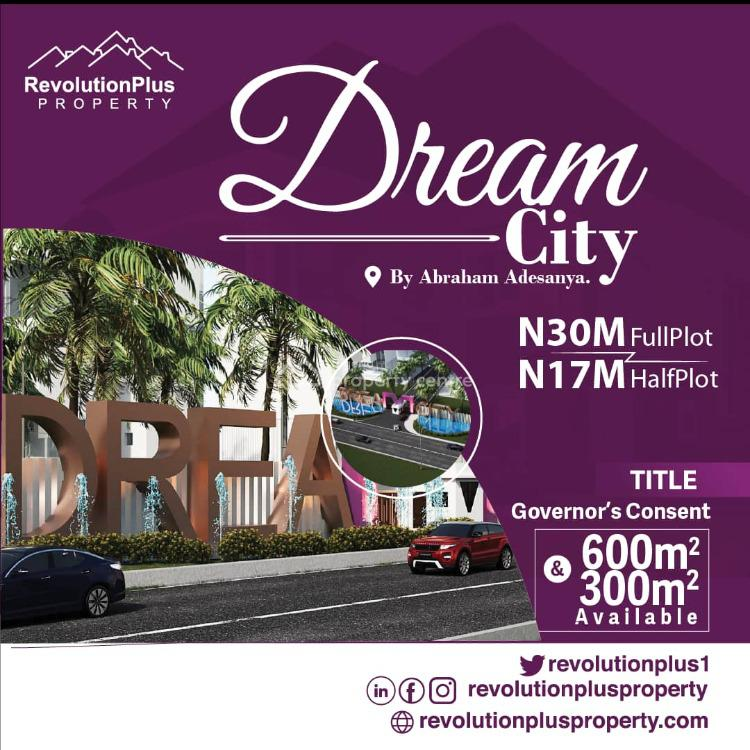 Land, Dreamcity Abraham Adesanya, Ajah, Lagos, Residential Land for Sale