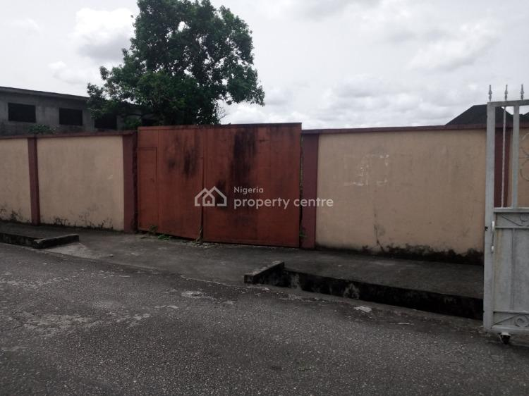 4 Plots and Half of Table Land, Fenced and Gated in a Choice Estate, Bendel Estate, Warri, Delta, Residential Land for Sale