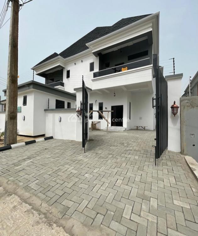 Four Bedroom Semi Detached Duplex with Bq, Lafiaji, Lekki, Lagos, Semi-detached Duplex for Rent