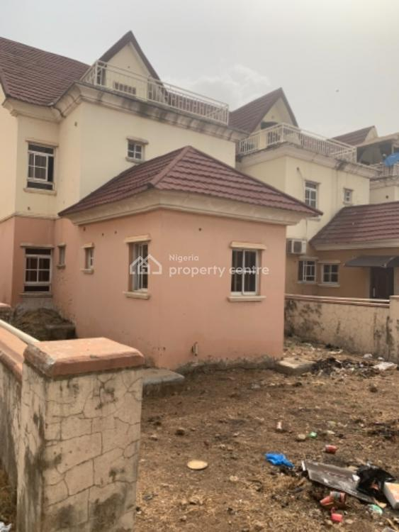 Beautifully Built 5 Bedroom Terraces with a Bq, Shell Coopeast Garden Estate, Gaduwa, Abuja, Terraced Duplex for Sale