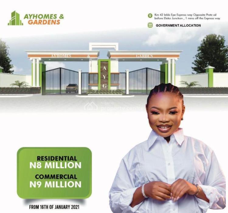 Estate Land, Igando, Eleko, Ibeju Lekki, Lagos, Mixed-use Land for Sale