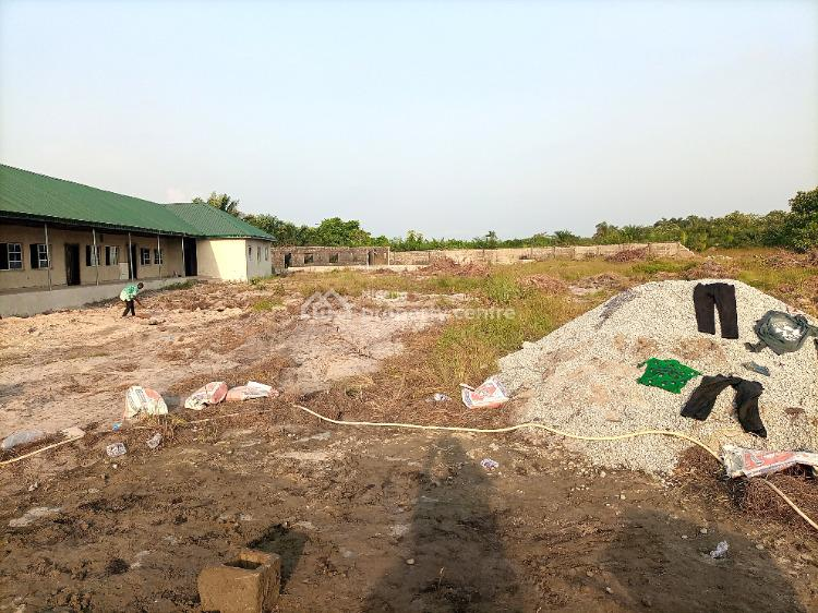 8 Plots of Fenced Land. Excellent Title: 100% Approved Gazette, 5 Minutes From Dangote Refinery/ Close to Lekki Sea Port, Siriwon Town, Ibeju Lekki, Lagos, Land for Sale