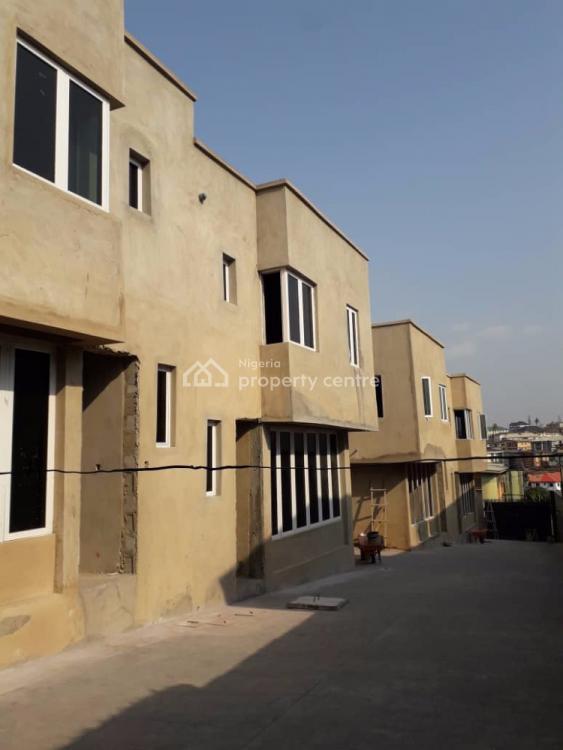New 4 Bedroom Terrace Duplexes, Off College Road, Ogba, Ikeja, Lagos, Terraced Duplex for Sale