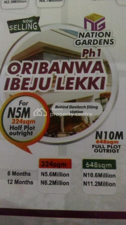Mixed-use Land, Behind Davitech Filling Station, Oribanwa, Ibeju Lekki, Lagos, Mixed-use Land for Sale