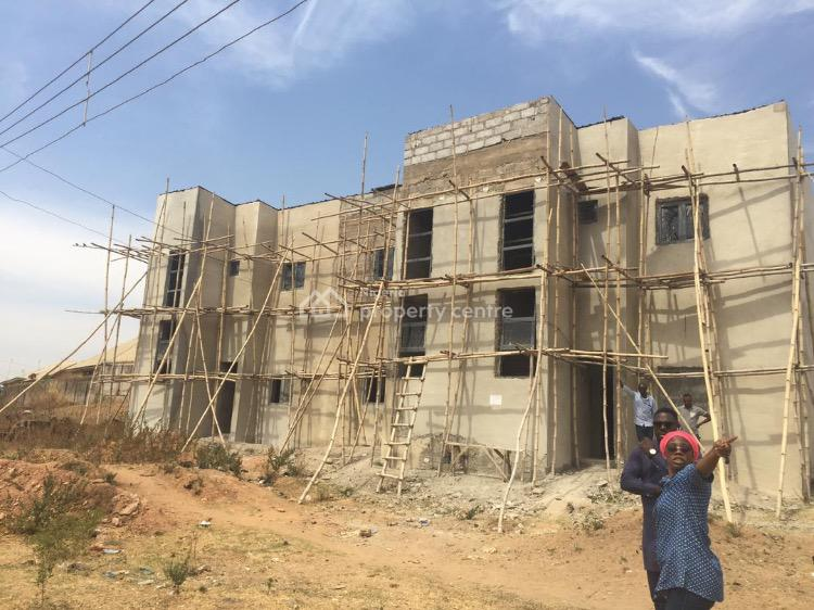 Unfinished 6 Units of 2 Bedrooms Flat in a Block, Fidelity Bank, Fha (f.h.a), Lugbe District, Abuja, Block of Flats for Sale