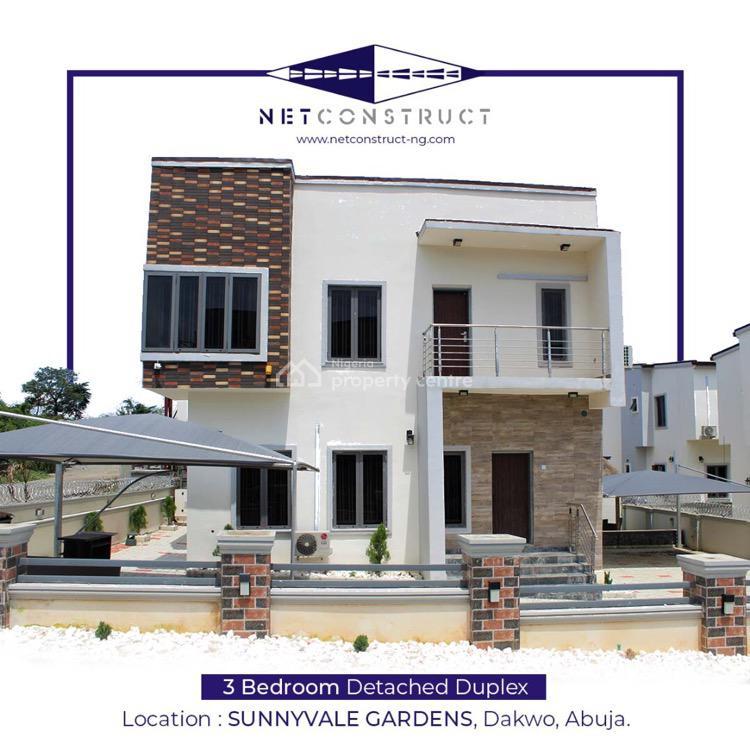3 Bedrooms Detached Duplex, Adjacent Sunnyvale Estate, Lokogoma District, Abuja, Detached Duplex for Sale