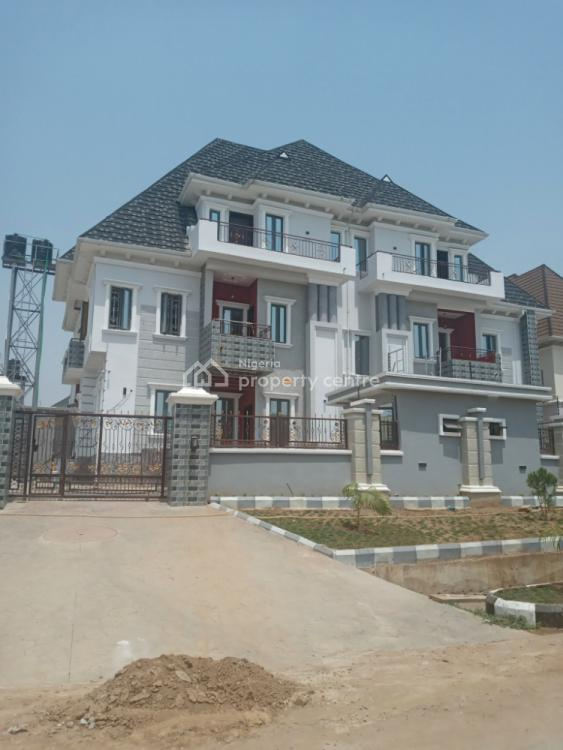 5 Bedrooms Semi Detached Mansion with a Penthouse and 1 Room Bq, 44 Crescent, Citec Villa Residential Area, Gwarinpa, Abuja, Semi-detached Duplex for Sale
