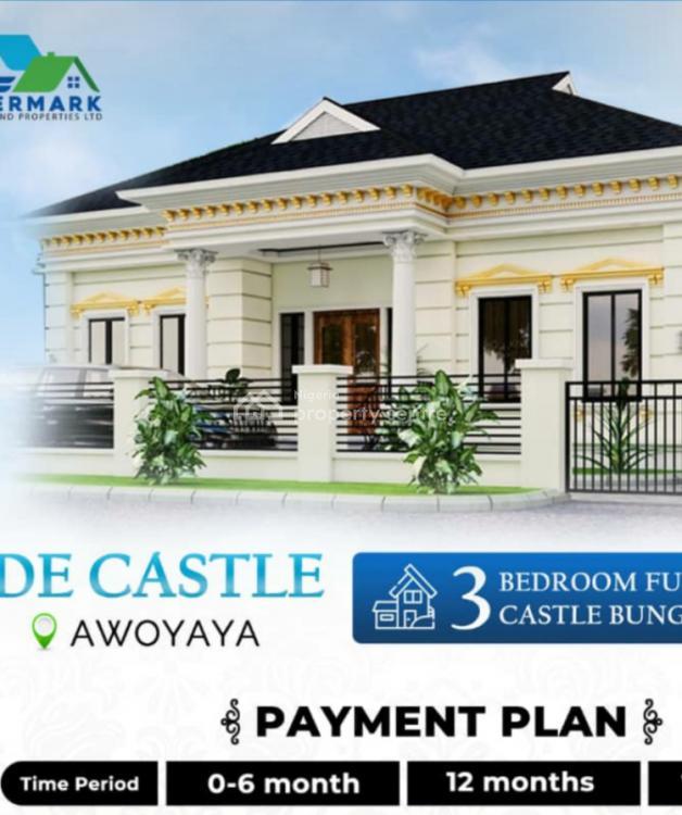 Royal 3 Bedroom Bungalows, Awoyaya, Ibeju Lekki, Lagos, Detached Duplex for Sale