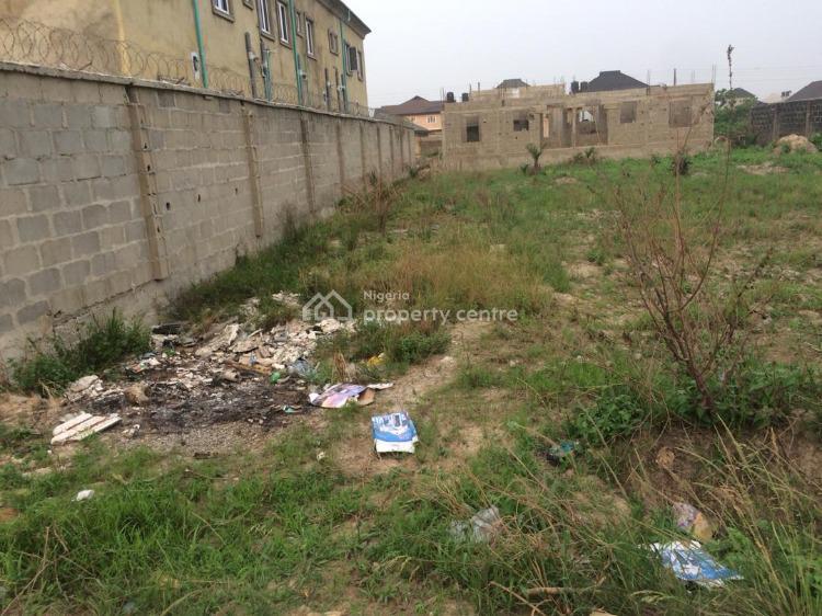 60 By 60 Dry Half Plot of Land, Valley View Estate Oluodo, Ebute, Ikorodu, Lagos, Residential Land for Sale