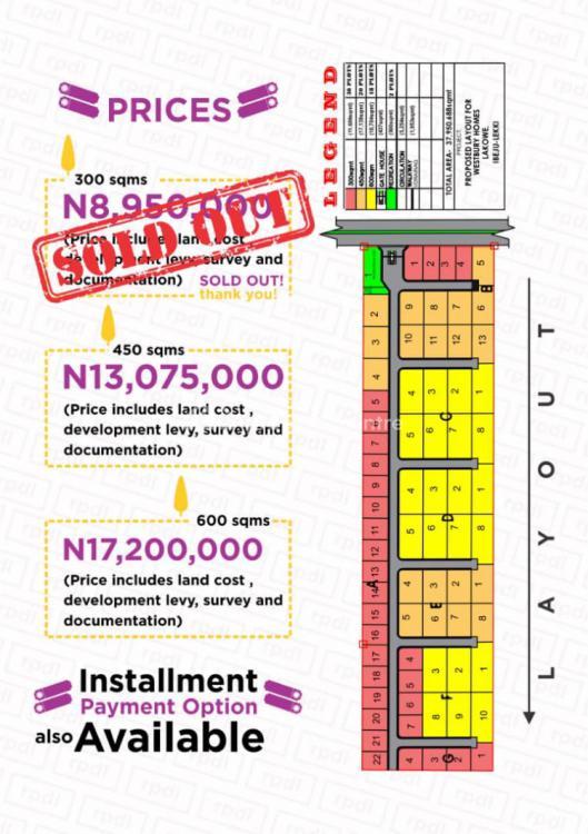 Affordable and 100% Dry Buy and Build Land, Westbury Homes, Beechwood Estate, Bogije, Ibeju Lekki, Lagos, Mixed-use Land for Sale