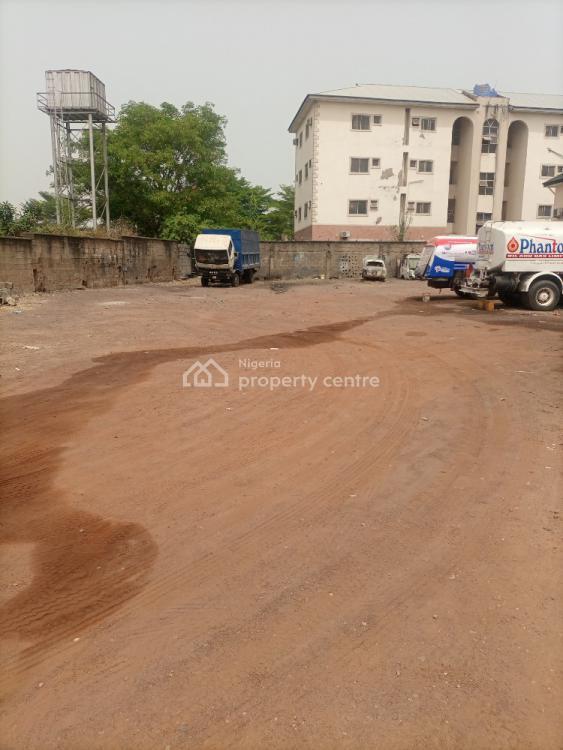 a Flat Land Measuring 1,830sqm Fenced Round, Utako, Abuja, Residential Land for Sale