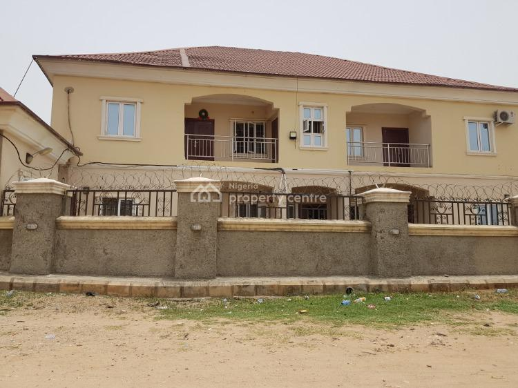 Well Finished Block of 4 Nos. 2 Bedroom Flats Within a Fenced Premise, Off Nepa Road, F14 Bazango Layout, Kubwa, Abuja, Block of Flats for Sale