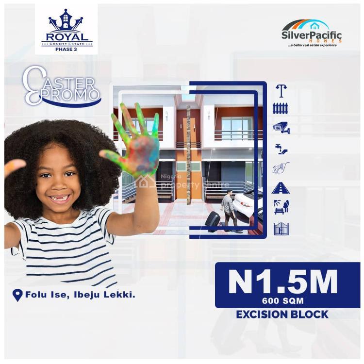 Land, Royal County Phase 3, Folu Ise, Ibeju Lekki, Lagos, Land for Sale