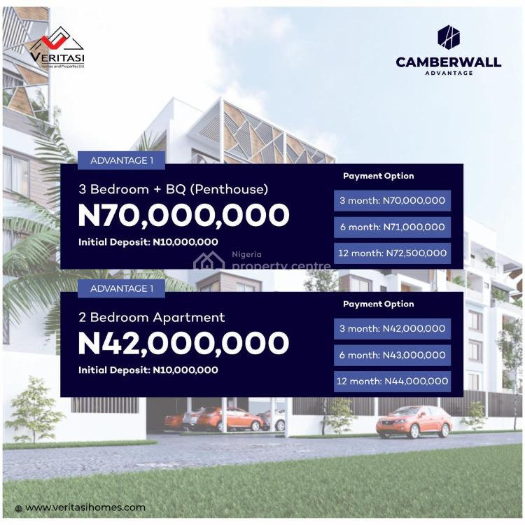 Luxury 3 Bedrooms Penthouse with Bq, Ikate, Lekki, Lagos, Semi-detached Duplex for Sale