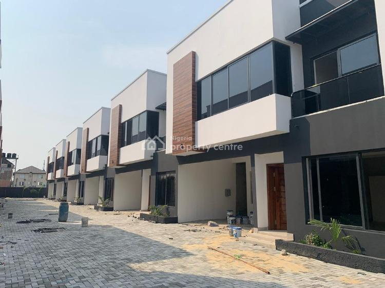 4 Bedrooms Terraced with Bq, Osapa, Lekki, Lagos, House for Sale